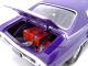 1970 Chevrolet Chevelle SS 454 Purple Pro Street 1/24 Diecast Car Model Unique Replicas 18676