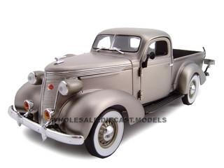 1937 Studebaker Pickup Titanium 1/24 Diecast Car Model Unique Replicas 18568