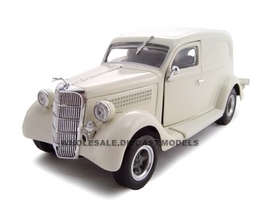 1935 Ford Sedan Delivery Cream 1/24 Diecast Car Model Unique Replicas 18525