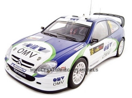 Citroen Xsara 2005 WRC M.Stohl Rally Cyprus 1 of 2000 Made 1/18 Diecast Model Car Autoart 80538