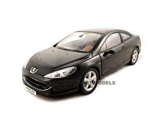 Peugeot 407 Black 1/18 Diecast Model Car Norev 184752