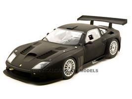 2004 Ferrari 575 GTC Diecast Car 1/18 Flat Black Die Cast Car Model by Kyosho