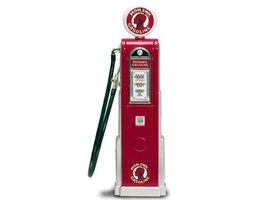 Mohawk Gasoline Vintage Gas Pump Digital 1/18 Diecast Replica Road Signature 98771
