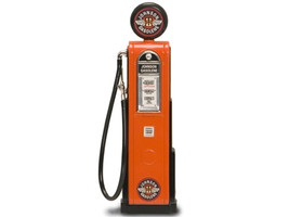 Johnson Gasoline Vintage Gas Pump Digital 1/18 Diecast Replica Road Signature 98761
