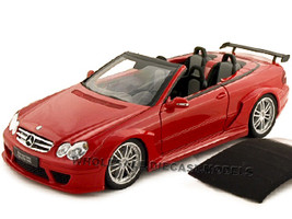 Mercedes CLK DTM AMG Convertible Red 1/18 Diecast Car Model Kyosho 08462