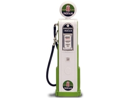 Indian Gasoline Vintage Gas Pump Digital 1/18 Diecast Replica Road Signature 98751