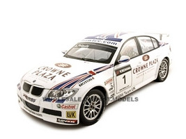 BMW 320Si Andy Priaulx #1 1/18 Diecast Car Model Guiloy 67503