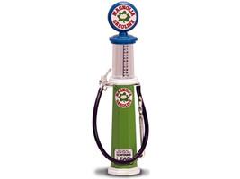 Magnolia Gasoline Vintage Gas Pump Cylinder 1/18 Diecast Replica Road Signature 98742
