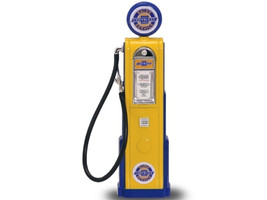 Chevy Gasoline Vintage Gas Pump Digital 1/18 Diecast Replica Road Signature 98641