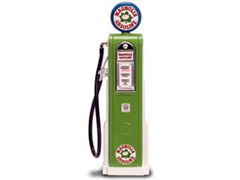 Magnolia Gasoline Vintage Gas Pump Digital 1/18 Diecast Replica Road Signature 98741