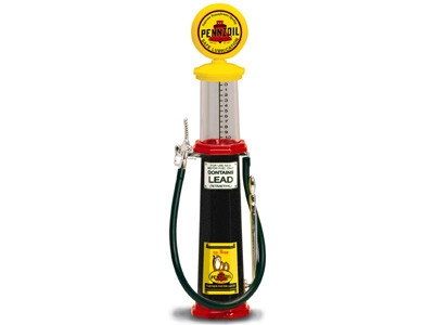 BUICK GASOLINE VINTAGE GAS PUMP CYLINDER 1//18 SCALE BY ROAD SIGNATURE 98682