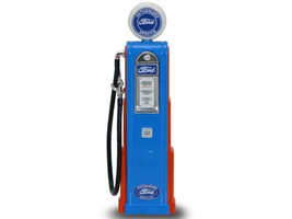 Ford Gasoline Vintage Gas Pump Digital 1/18 Diecast Replica Road Signature 98631