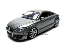 2007 Audi TT Coupe Grey 1/18 Diecast Car Model Motormax 73177