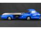 1954 1955 Mercedes Racing Car Transporter The Blue Wonder 1/18 Diecast Model CMC 143