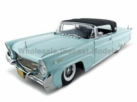 1958 Lincoln Continental Mark 3 Platinum 1/18 Diecast Car Model Sunstar 4704 5251