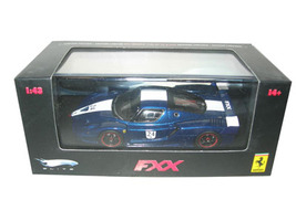 Ferrari Enzo FXX Elite Limited Edition Blue #24 1/43 Diecast Car Model Hotwheels N5606