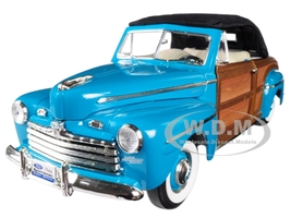 1946 Ford Sportsman Woody Green 1/18 Diecast Model Car Road Signature 20048