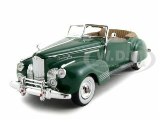 1941 Packard Darrin One Eighty Green 1/32 Diecast Car Model Signature Models 32398