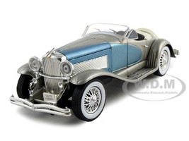 1935 Duesenberg SSJ Blue/Silver 1/32 Diecast Model Car Signature Models 32318