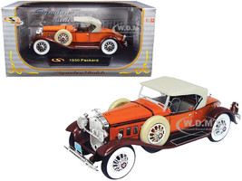 1930 Packard Boattail Speedster Brown 1/32 Diecast Model Car Signature Models 32315