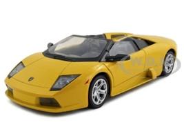 Lamborghini Murcielago Roadster Yellow 1/24 Diecast Model Car Motormax 73316