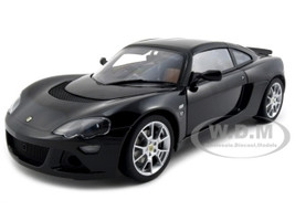 Lotus Europa S Black 1/18 Diecast Model Car Autoart 75367