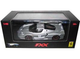 Ferrari Enzo FXX Silver #16 Elite Limited Edition 1/43 Diecast Model Car Hotwheels N5609