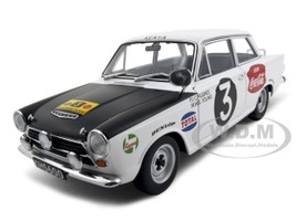 Ford Cortina MK1 Rally 1964 #3 Huges/Young Rally Safari 1/18 Diecast Model Car Autoart 86428