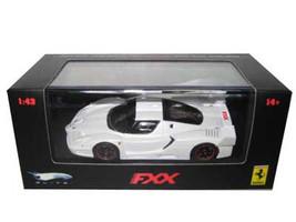 Ferrari Enzo FXX Pearl White Elite Limited Edition 1/43 Diecast Model Car Hotwheels N5610