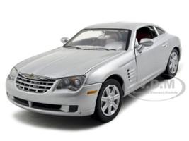 Chrysler Crossfire Concept Diecast Car Model 1/24 Silver Die Cast Car by Motormax
