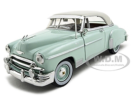 1950 Chevrolet Bel Air Green 1/24 Diecast Model Car Motormax 73268