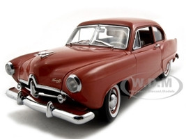"1951 Kaiser Henry J Indian Ceramic Platinum Edition ""NO TRUNK"" 1/18 Diecast Car Model Sunstar 5092"