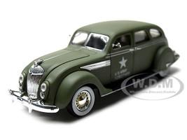 1936 Chrysler Airflow Army Green 1/32 Diecast Model Car Signature Models 32519