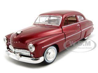 1949 Mercury Red 1/24 Diecast Car Model Motormax 73225