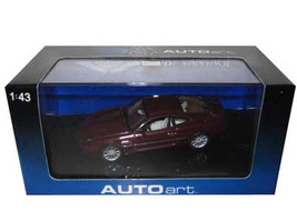 Aston Martin DB7 Vantage Red 1/43 Diecast Model Car Autoart 50202