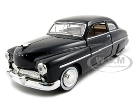 1949 Mercury Black 1/24 Diecast Model Car Motormax 73225