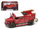 1950 Mercedes Benz TLF-15 Fire Engine Red 1/43 Diecast Model Road Signature 43013
