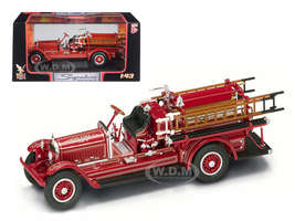1924 Stutz Model C Fire Engine Red 1/43 Diecast Model Road Signature 43006