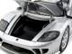 Saleen S7 Silver 1/24 Diecast Model Car Motormax 73279