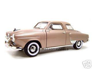 1950 Studebaker Champion Golden Tan 1/18 Diecast Model Car Road Signature 92478