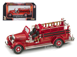 1935 Mack Type 75BX Fire Engine Red 1/43 Diecast Model Car Road Signature 43001