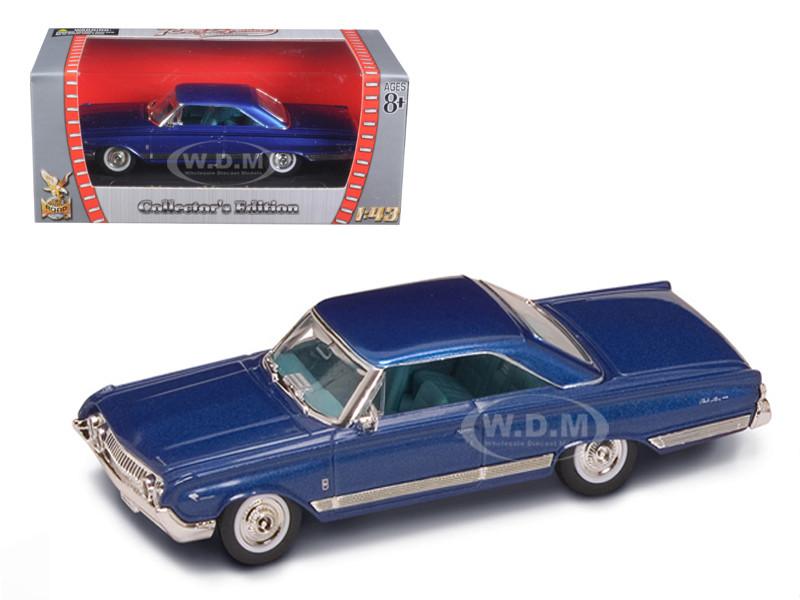 1964 MERCURY MARAUDER BLUE 1//43 DIECAST CAR MODEL BY ROAD SIGNATURE 94250