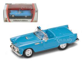 1955 Ford Thunderbird Blue 1/43 Diecast Model Car Road Signature 94228