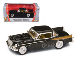 1958 Studebaker Golden Hawk Black 1/43 Diecast Model Car Road Signature 94254