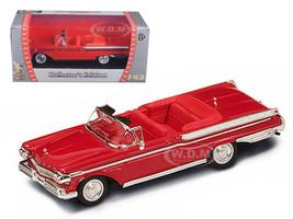 1957 Mercury Turnpike Cruiser Red 1/43 Diecast Car Model Road Signature 94253