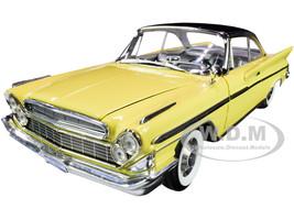 1961 DeSoto Adventurer Yellow Black Top 1/18 Diecast Model Car Road Signature 92738