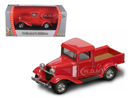 1934 Ford Pickup Truck Red 1/43 Diecast Model Car Road Signature 94232