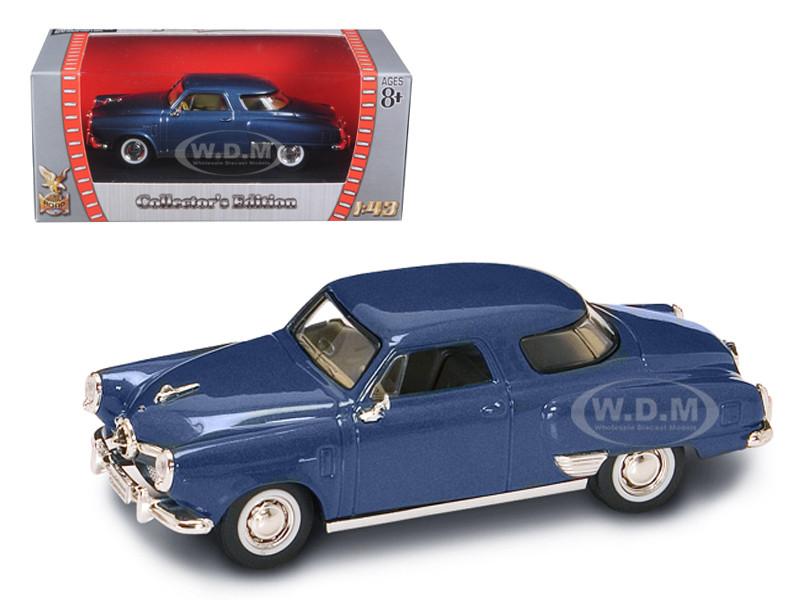 1950 Studebaker Champion Blue 1/43 Diecast Car Road Signature 94249