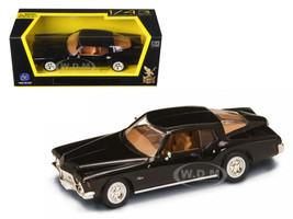 1971 Buick Riviera GS Black 1/43 Diecast Model Car Road Signature 94252