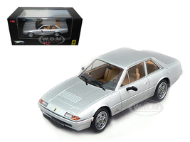 Ferrari 412 Silver Limited Edition Elite 1/43 Diecast Model Car Hotwheels N5597